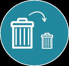 icone réduction des déchets